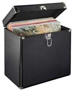 Hama LP-Koffer Tasche Hülle PA DJ Platten-Case Box 50x Schall-Platte Maxi Vinyl