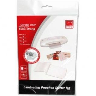 Starter Set Laminierfolien 240x A4/A5/A6/Visitenkarten Laminier-Hüllen Taschen