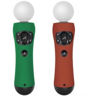 2x SL Guard Silikon Skin Schutz-Hülle für Sony PS3 PS4 Move Controller Game Pad