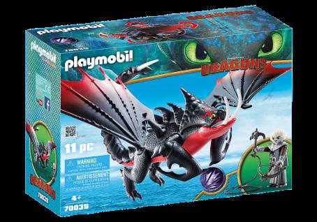 Playmobil 70039 Todbringer und Grimmel Dragons Flug-Drache Bösewicht Spielzeug