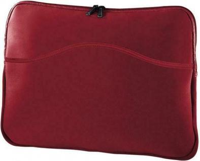 "Hama Notebook-Cover 13"" 13, 3"" rot für Laptop Netbook Notebook-Tasche Hülle Bag"