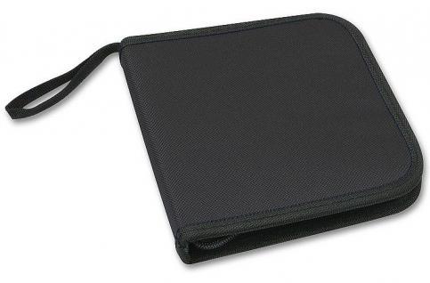 Speedlink CD-Case DVD Tasche für 12x CD Blu-Ray CD-ROM Disc CD-Booklet Hülle Bag