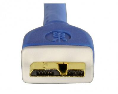 Hama HQ 3m USB 3.0 USB-Kabel Micro-B-Stecker Micro-USB Gold geschirmt PC HDD Hub - Vorschau 3
