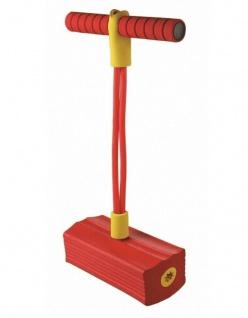 Sportfit Spring-Pogo Rot Pogo-Pin Pogo Stick Hüpf-Stab Hüpfen Kinder Hüpf-Spaß