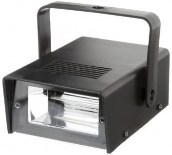 Bigben Party Mini LED Stroboscope Licht-Effekt Stroboskop Blizter Show DJ Disco - Vorschau 1
