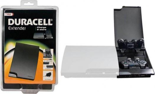 Duracell Extender Box Ladestation Cardreader USB Hub für PS3 Wireless Controller