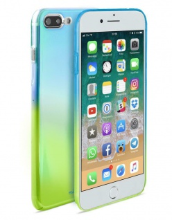 Puro Hologram Cover Case Schutz-Hülle Farbverlauf für Apple iPhone 7 Plus 8 Plus