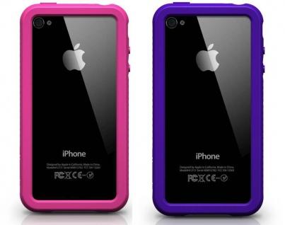 XtremeMac 2x Rahmen Cover Frame Ecken-Schutz Hülle Case für Apple iPhone 4S 4