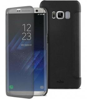 Puro Booklet Case Sense Smart Tasche Schutz-Hülle für Samsung Galaxy S8+ S8 Plus
