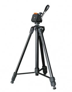 Hama Dreibein-Stativ Delta 160cm 3D 3-Wege-Kopf Kamera-Stativ Foto-Stativ