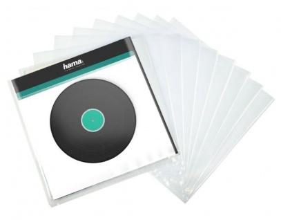 Hama 10x LP Außen-Hüllen Tasche Schutz-Hülle Case für Schall-Platte Maxi Vinyl