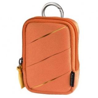 Hama universal Kamera-Tasche Foto-Tasche Fancy Wave 60H Orange Case Hülle Etui