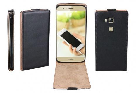 Patona Slim Flip-Cover Klapp-Tasche Schutz-Hülle Cover Case für Huawei Ascend G8