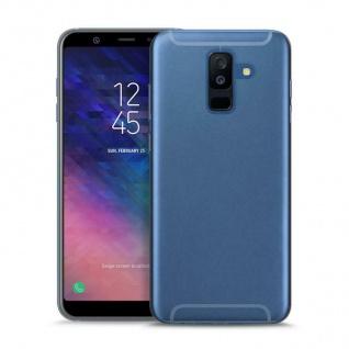 Puro Ultra Slim 0.3 Nude Cover TPU Case Schutz-Hülle für Samsung Galaxy A6 2018