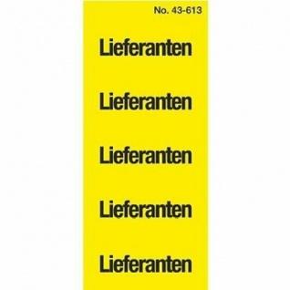 Avery Zweckform 100x Ordner Inhaltsschild Lieferanten Etiketten Inhalts-Schild
