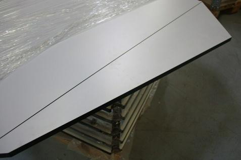 USM Haller Tischverlängerung Tisch Anbau perlgrau 125er