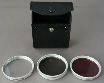 Filter Set 49mm Pol-Filter UV-Filter FLD-Filter Speerfilter Kamera Camcorder etc