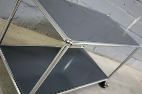 USM Haller Lowboard Regal Tisch Beistell-Tisch 75x35 anthrazitgrau Ablage - Vorschau 5