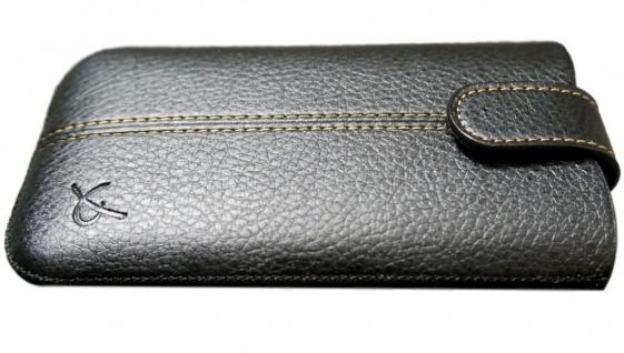 Dolce Vita Tasche Leder-Hülle Etui Cover für Sony Xperia Z3 Z5 X XZ1 Compact etc