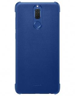 Original Huawei Color PU Case Blau Cover Tasche Schutz-Hülle für Mate 10 Lite