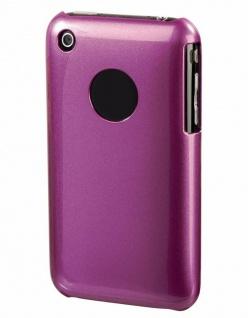 Hama Handy-Cover Glossy Pink Schutz-Hülle Case Tasche für Apple iPhone 3G 3GS