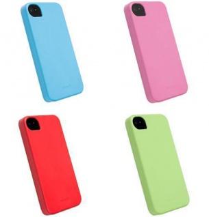 4er PACK Krusell BIO Cover Tasche für Apple iPhone 4 4S Schutz-Hülle Hard-Case