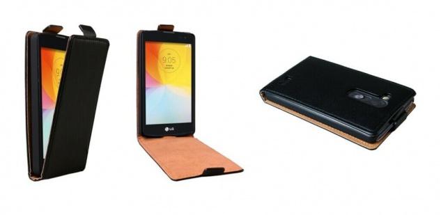 Patona Slim Flip-Cover Klapp-Tasche Schutz-Hülle Cover Case für LG L Fino