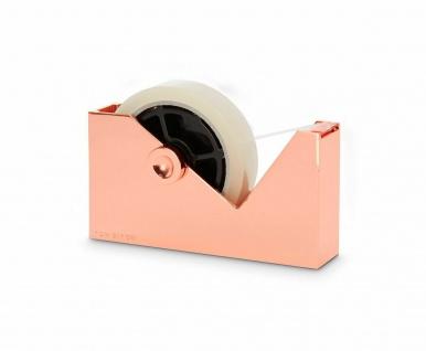 Tom Dixon Klebefilm-Spender Tisch Cube Tape Dispenser Zink f. Tesafilm-Abroller