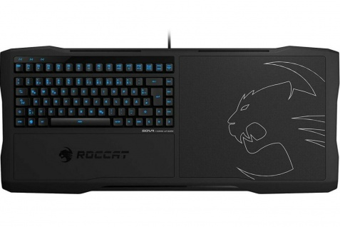 Roccat Sova MK Gaming Lapboard Tastatur Maus-Pad Dänemark DNK Layout Keyboard