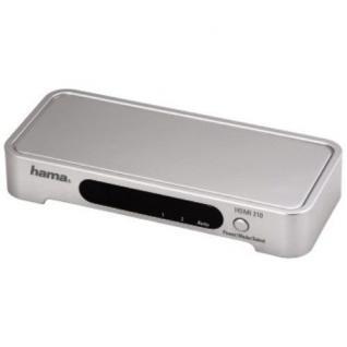 Hama HQ HDMI-Umschalter 2-Fach Adapter HD 1080p 2x HDMI-Buchse > 1x HDMI-Stecker