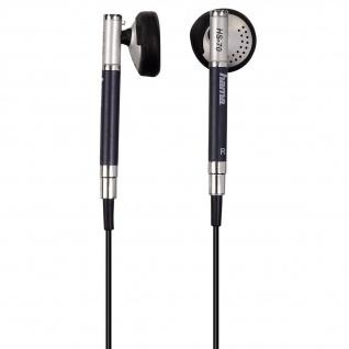 Hama In-Ear PC-Headset HS-70 Stereo Headphone 3, 5mm Klinke 2m Schwarz