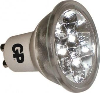 GP LED Strahler GU10 1, 6W/15W Reflektor Warmweiß 2950K Lampe Birne Leuchtmittel - Vorschau 2