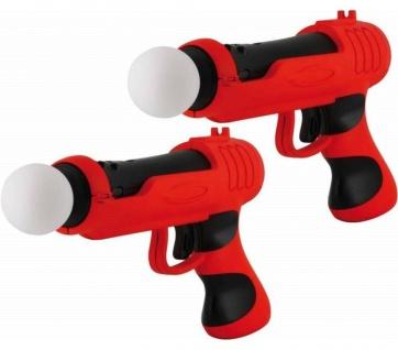 DOPPELPACK 2x Gun Pistole Controller Light-Gun Shoot-Gun für PS4 PS VR PS3 Move