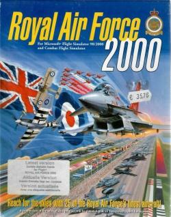 Royal Air Force 2000 - Flight Simulator Flugsimulator Cockpit Propeller