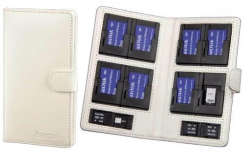 Hama Memory-Card Case Speicherkarten-Tasche für 12 Memory-Stick Pro Duo Micro M2