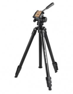 Hama Dreibein-Stativ Delta Pro 160cm 3D 3-Wege-Kopf Kamera-Stativ Foto-Stativ