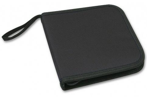 Speedlink CD-Tasche DVD Wallet für 12x CD DVD BluRay Disc Booklet Case Hülle Bag