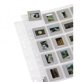 Hama Dia-Hüllen 12 Blatt 240 Dias Dia Format 5x5cm Folie Aufbewahrung Tasche