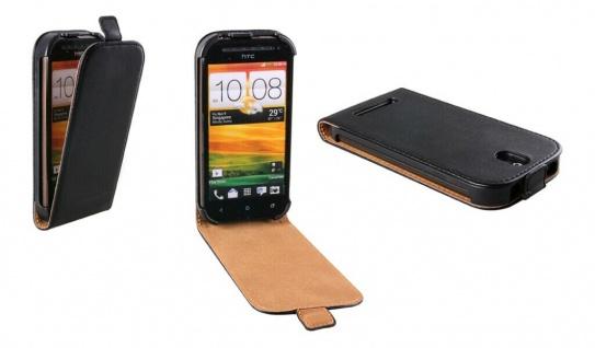 Patona Slim Flip-Cover Klapp-Tasche Schutz-Hülle Cover Case für HTC One SV