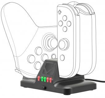 Speedlink Ladegerät Lade-Station Docking für Nintendo Switch Joy-Con Controller