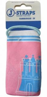 J-Straps Handy-Socke Etui Tasche HSV Fashion Hamburger SV für Handy MP3-Player