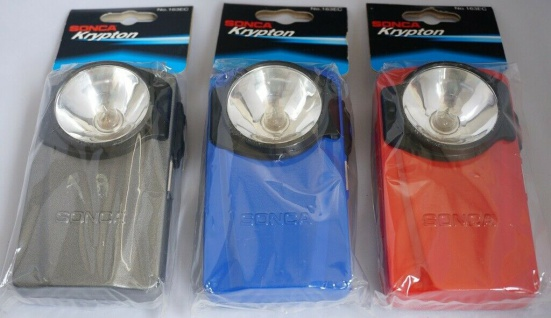 Sonca Krypton Taschenlampe Lampe Leuchte hell mit Metall-Gehäuse Flash Light - Vorschau 2