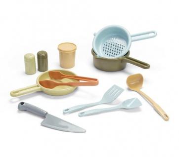 Dantoy Bio Küchen-set Spielzeug aus Bio-Kunststoff Küchen-Zubehör für Kinder