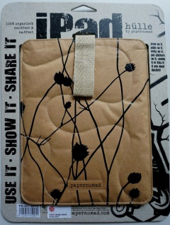 Papernomad Schutz-Tasche Cover Case Etui Schutz-Hülle für Apple iPad 2 / 3 / 4