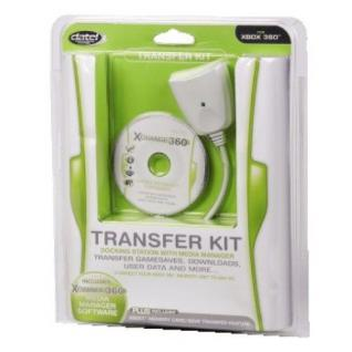 Datel Transfer Kit Docking-Station Media-Manager Daten-Kabel für Xbox 360 Xbox 1