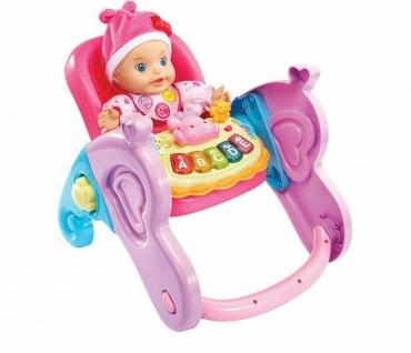 Vtech Little Love Serie 4in1 Baby-Schale Puppen-Zubehör Puppen-Trage Wippe - Vorschau 2