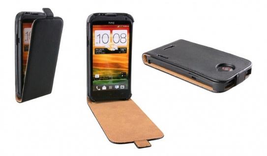 Patona Slim Flip-Cover Klapp-Tasche Schutz-Hülle Cover Case für HTC One X