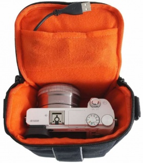 Hama Kamera-Tasche Hülle Case für Sony Alpha A-6300 A-6000 A-5100 A-5000 NEX-6 - Vorschau 4