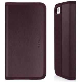 Macally Folio Hard Case Flip-Cover Klapp-Tasche Ständer Bag für Apple iPhone 5C