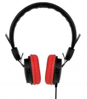 Colorblock Headphone On-Ear Kopfhörer Mikrofon 3, 5mm Klinke Headset Handy MP3